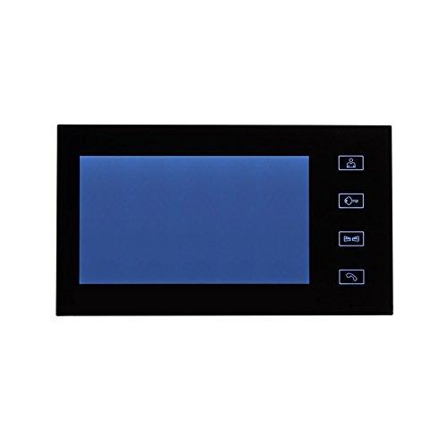 videoportero 7pulgadas Black warelec