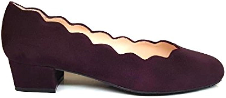 Gennia AGUJETA - Damen Ballerinas Blockabsatz 2018 Letztes Modell  Mode Schuhe Billig Online-Verkauf