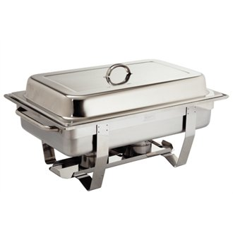Olympia K409 Milan Chafing Dish, 1/1 Stainless Steel Chafer Test