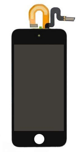 MicroSpareparts Mobile Apple iPod Touch 5 LCD and Digitizer with Frame Assembly, MSPP70116 (Digitizer with Frame Assembly 32-64GB Black) - Ipod Digitizer Touch