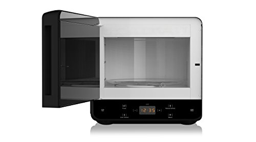 Hotpoint MWH 1331 B Curve Solo Microwave with Touch Control, 13 Litre, 700 W, Black