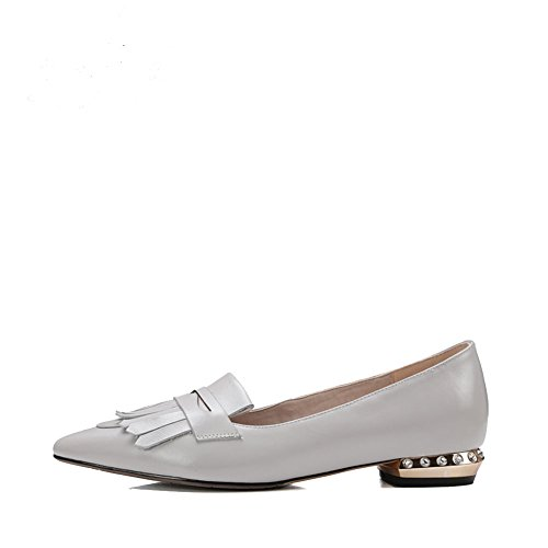 Nappe con moda primavera/estate scarpe piatte a punta/Joker pendolarismo calzature da lavoro professionale B