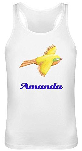 Amanda Tank Top T-Shirt für Männer & Frauen - 100% Soft Cotton - Benutzerdefinierte Bedruckte Unisex Kleidung X-Large (Tank Amanda Top)