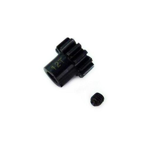 12T Hardened Steel Pinion Gear for Iron Track Raider RC Monster Truck Vehicle (Raiders Baby Gear)