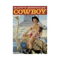 """Bikini everyday cards 5""""x7"""" Happy birthday cowboy - Greeting Card by Max Hernn"""