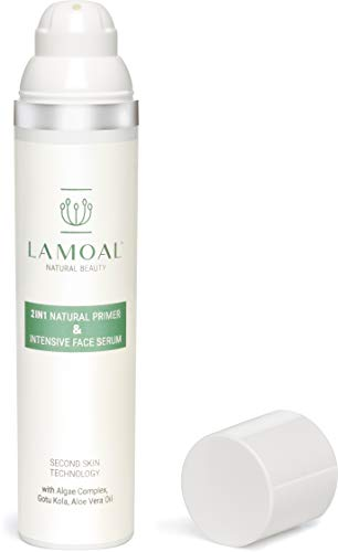 Porenverfeinerndes Primer Serum von LAMOAL - ohne Silikon, vegan, mit Parakresse, 1er Pack (1 x 100 ml) -