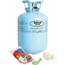 """Embalajes Industrial De Gas - bombona helio 9"""" c/30globos-"""