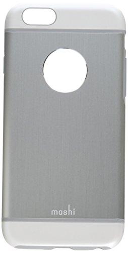 Moshi iGlaze Armour - Funda para Apple iPhone 6 (Resistente a rayones, Resistente a golpes), plateado