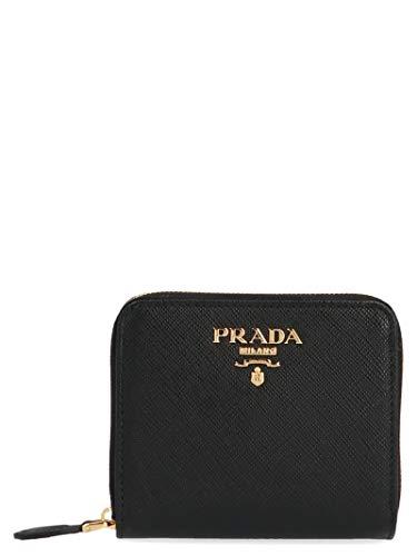 Prada Damen 1Ml036qwaf0002 Schwarz Leder Brieftaschen