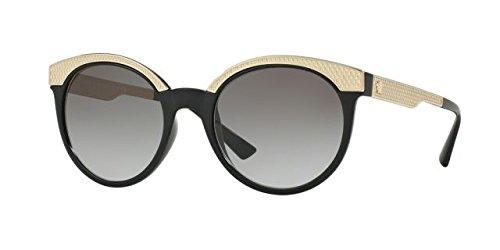 Versace 0ve4330 gb1/11, occhiali da sole donna, nero (black/gradient), 53
