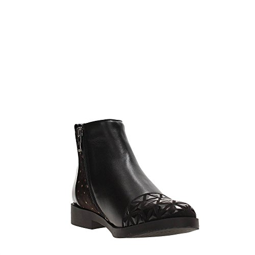 Cafènoir NEC116 - 226 multinero stivaletti donna alla caviglia beatles neri Nero