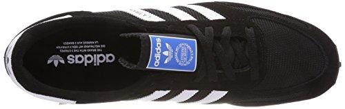 Adidas Trainer, Baskets Basses Pour Homme (noir / Blanc / Blanc)