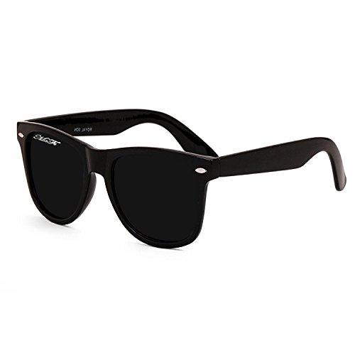 MaFs Wayfarer Black Dark Matt Protected Eyes Unisex Sunglasses (DSC_070)