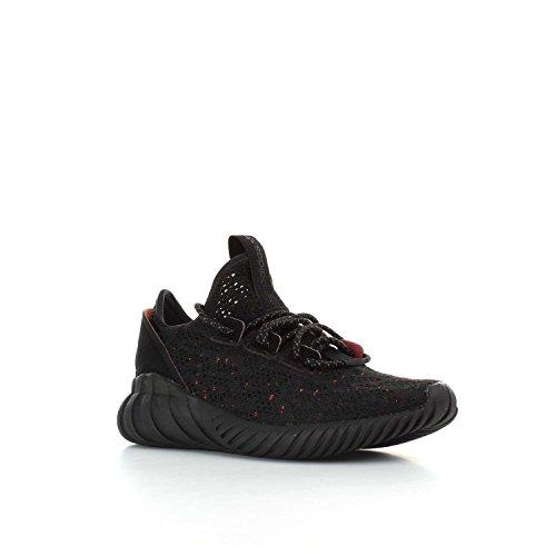 adidas Tubular Doom Sock PK J, Scarpe da Fitness Unisex-bambini Nero/verde (Negbas/Negbas/Olitra)