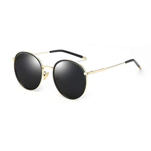 YIWU Brillen 2019 Neue Sonnenbrille Weibliches Rundes Gesicht Koreanische Version Der Flut Polarisierte Sonnenbrille Ins UV Protection Eye Brillen & Zubehör (Color : 2)