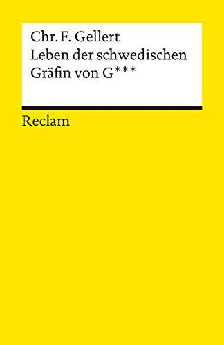 Leben der schwedischen Gräfin von G (Reclams Universal-Bibliothek)