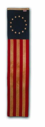 Valley Forge Flagge Heritage Series Antik 2,4m Pull Down mit genähtes Streifen & bestickte...
