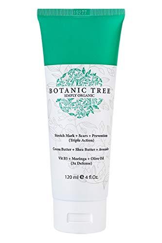 Botanic Tree Dehnungsstreifen-Creme-Entferner verringert die Dehnungsstreifen bei 93% der Kunden in 2 Monaten und hilft Narben und Prävention mit Kakaobutter
