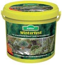 Allflor Winterfest - Kalium & Magnesium Dünger - für starke Pflanzen das ganze Jahr - 3 kg