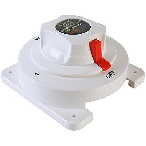 SeaFlo ricaricabile Switch selettore 3Posizione 300Amp massima 6V 12V 24V 32V per Marine RV generale industria