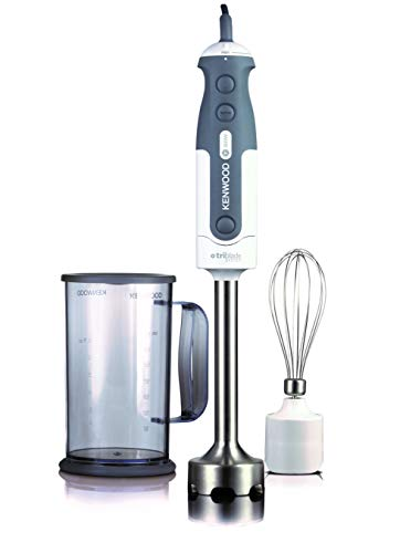 Kenwood - hdp403wh - Mixeur plongeant 800w + fouet gris triblade