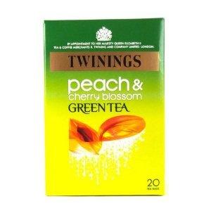 Twinings Green Tea Peach & Cherry Blossom 20 Teabags 40g