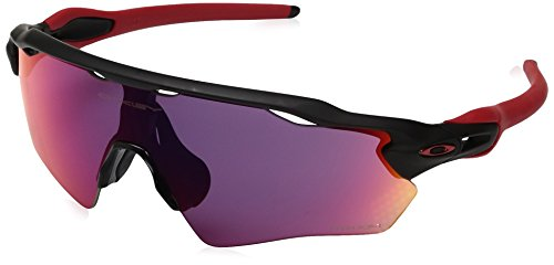 Oakley mod. 9001 sun occhiali da sole, blu (matte black), 40 uomo
