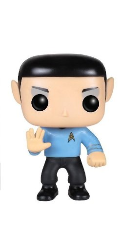 Pop! Television PDF00004034 - Spock of Star Trek, figure of 10 cm (Funko FUNVPOP3617) - Figure Star Trek Spock head (10cm)