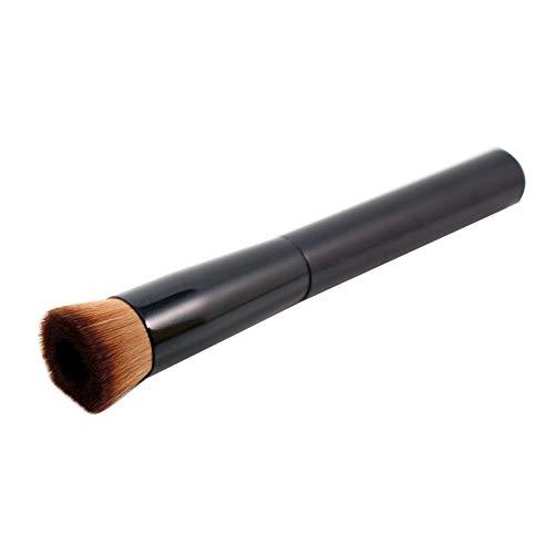 1pcs 2018 Nouveaux Outils De Maquillage CosméTiques Multifonctionnels Pro Face Liquide Blush Brush Foundation Pinceau De Maquillage pas cher (Noir)