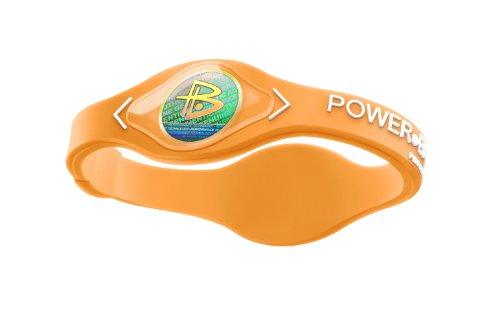 Power Balance / GWSA09BK00WTLP Bracelet silicone Néon Orange w/Blanc