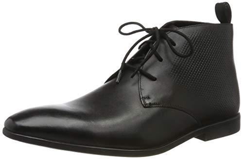 Clarks - Botines de Cuero Hombre, Color Negro, Talla 42 EU