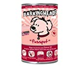 Barking Heads Wet Dog Food Fusspot Salmon 8 x 400g