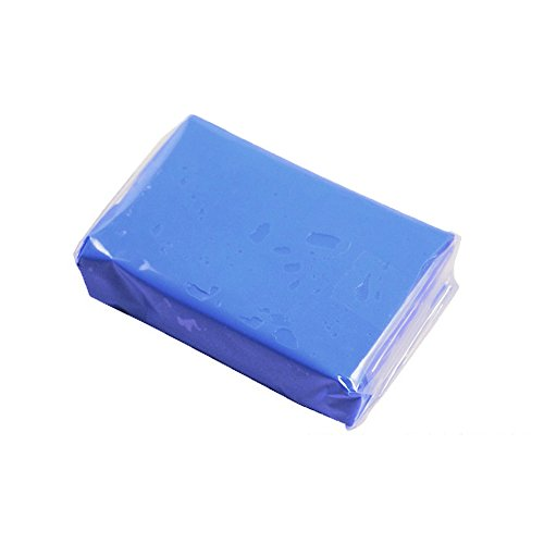 Malayas Reinigungsknete 1 Stück Lackreinigungsknete Magic Clay Bar für Auto Reinigung Super Saugfähigkeit Reiche Blase