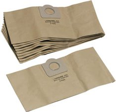 Papierfiltertüten, passend für A2150, 2201F, A2204, 2251 ME, A2254, A2254ME, A2604, A2206, WD 3.300, WD 3.500 P von Krcher