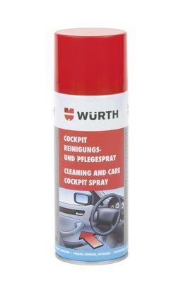 Würth Cockpitreiniger COCKPREINIG-SPRAY-400ML 1 Stück