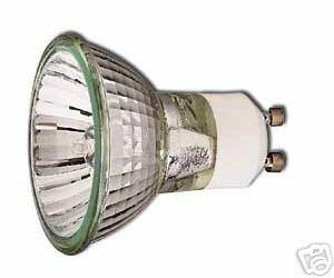 10 x GU10 35 Watt Halogen Light Bulbs