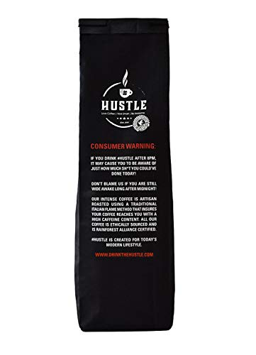 HustleCoffee – UK's Strongest Coffee, Guaranteed. Experience The Winning Combination of Fair Trade Coffee and Robust Flavour Selected from The Strongest Beans