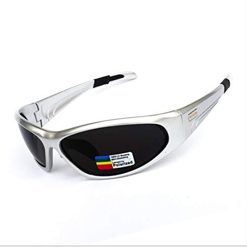 Retro Vintage Sonnenbrille, für Frauen und Männer Unisex Polarisierte Sport Sonnenbrille Männer Frauen Für Outdoor Baseball Laufen Angeln Golf Klettern Radfahren (Farbe : A002)