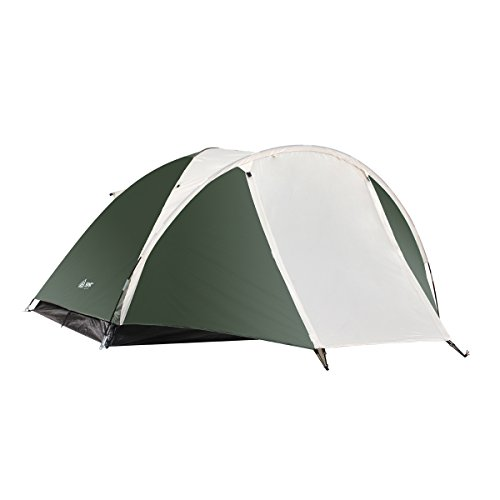 31LX5O6miiL. SS500  - Semoo Lightweight 3-Season Camping/Traveling Tent Double Layer, 3-4 Person Waterproof Dome Tent with Carry Bag
