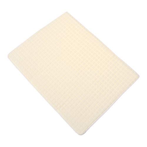 OUNONA Ultra feine Mikrofaser Handtücher Reinigungstuch von hoher Qualität für die Reinigung der Küche Schmutz Beige 30x40cm (Feine Handtücher)