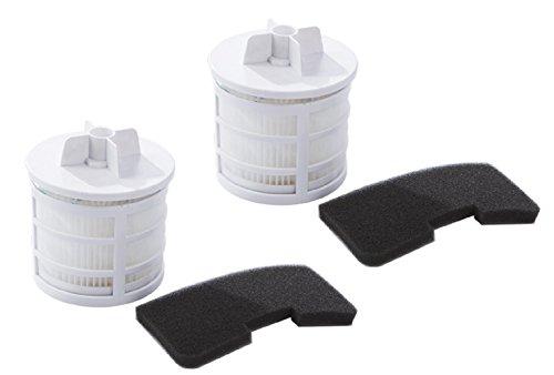 Confezione da 2. kit di filtro pre-motore e filtro hepa dell'aria uscente per gli aspirapolveri hoover sprint (alternativa a tipo u66, 35601328). prodotto genuino da green label