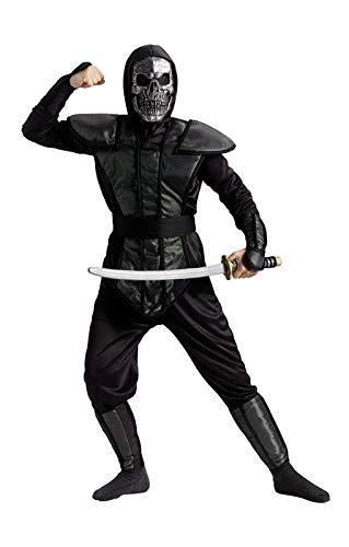 Horror-Shop Ninja Skull Master Kinderkostüm - Ninja Master Kostüm