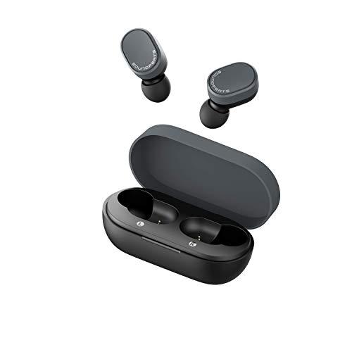 Bluetooth Kopfhörer, SoundPEATS Sport Kopfhörer Touch Control in Ear Headset TWS 3,5g Super leicht Mini Ohrhörer mit BT 5.0 Integriertem Mikrofon