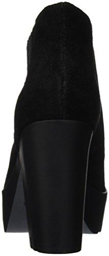 Calvin Klein Jeans Damen Sandy Suede Gummistiefel Schwarz (Blk)