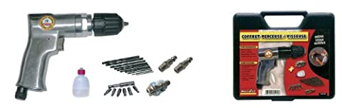 Mini Visseuse Devisseuse - Mecafer 160189 Mallette perceuse visseuse/dévisseuse +