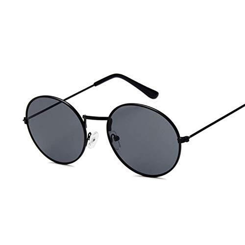 Kjwsbb Ocean Yellow Red Runde Sonnenbrille Für Frauen Spiegel Retro Damen Kleine Sonnenbrille Frauen