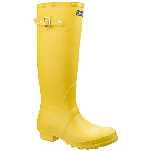 Botas de Agua Wellingtons amarillas para mujer