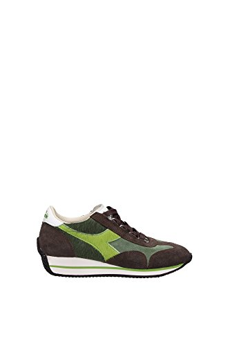 1604400170304 Diadora Heritage Sneakers Uomo Camoscio Verde Verde
