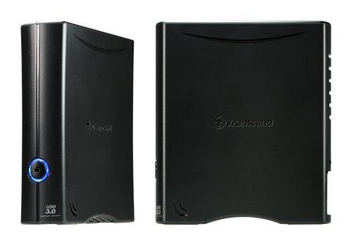 Transcend TS8TSJ35T3 T3 8TB Externe Festplatte (8,9 cm (3,5 Zoll) 64MB Cache, USB 3.0) schwarz