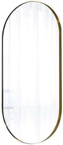Spiegel Haushaltsgegenstände in voller Länge, Wandspiegel for Schlafzimmer, Stehen Boden Spiegel-Feld der Wand befestigten Spiegel Spiegel Dressing for Zimmer Dressing (Size : 100 * 50cm)
